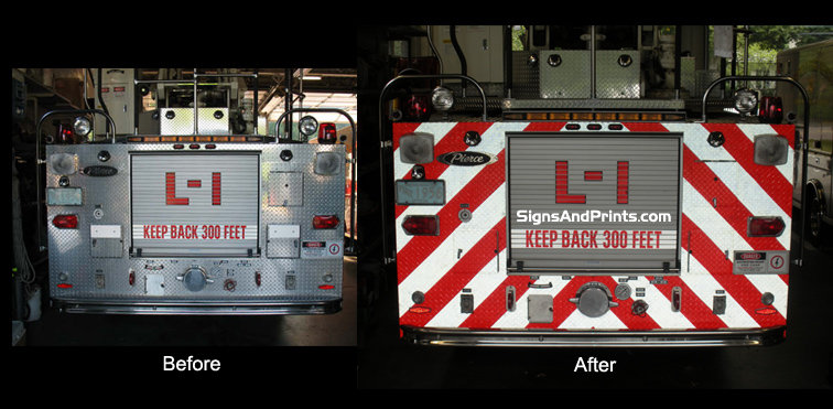 Signs And Prints Emergency Vehicle Letters Amp Graphics